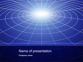 Abstract/Textures: Gravity Grid PowerPoint Template #10372