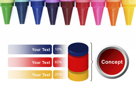Crayons PowerPoint Template Slide 11
