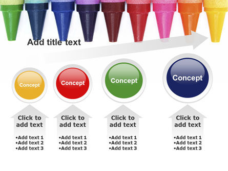 Crayons PowerPoint Template Slide 13