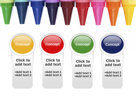 Crayons PowerPoint Template Slide 5