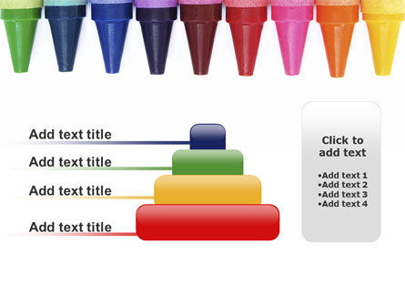 Crayons PowerPoint Template Slide 8