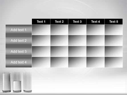 Glass Bar Chart PowerPoint Template Slide 15