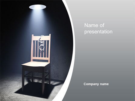 Legal: Penal System PowerPoint Template #10376