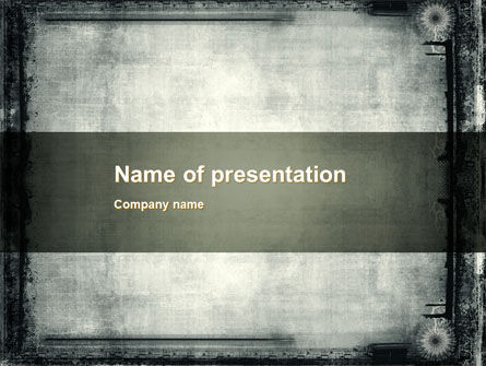 Abstract/Textures: Metal Surface PowerPoint Template #10378