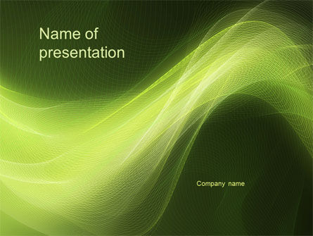 Green Wave PowerPoint Template