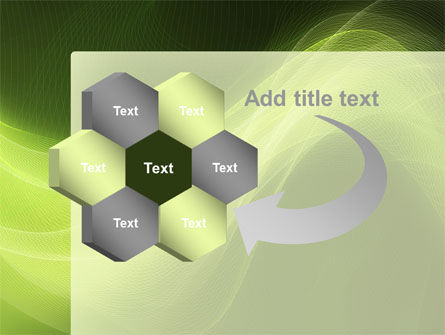 Green Wave PowerPoint Template Slide 11