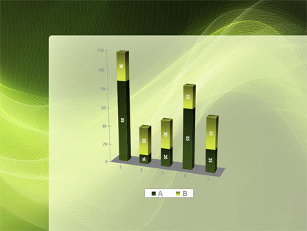 Green Wave PowerPoint Template Slide 17