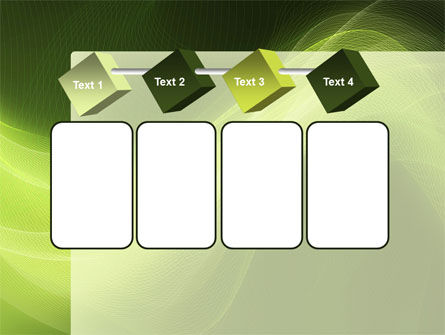 Green Wave PowerPoint Template Slide 18