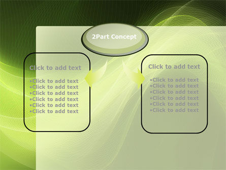 Green Wave PowerPoint Template Slide 4