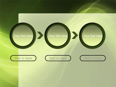 Green Wave PowerPoint Template Slide 5