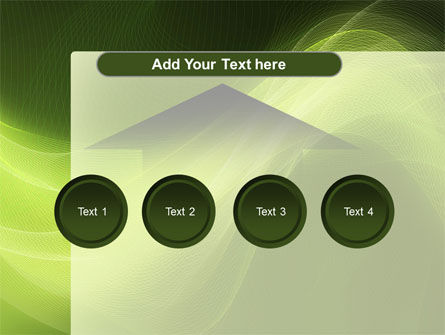 Green Wave PowerPoint Template Slide 8