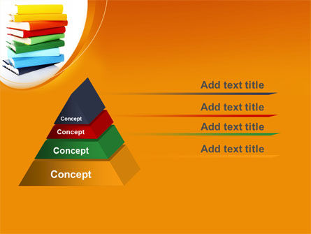 Stack of Books PowerPoint Template Slide 12