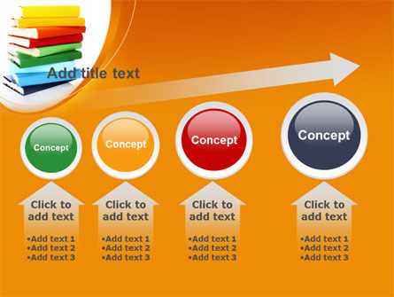 Stack of Books PowerPoint Template Slide 13