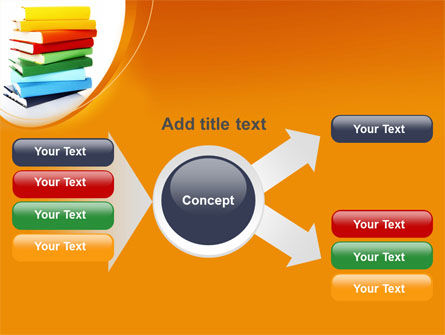 Stack of Books PowerPoint Template Slide 14