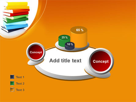 Stack of Books PowerPoint Template Slide 16