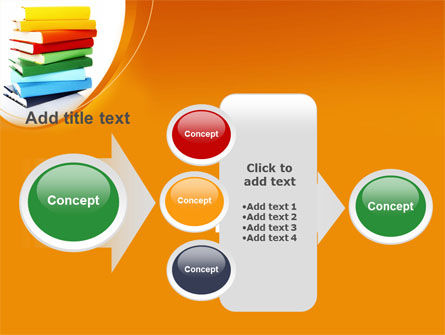 Stack of Books PowerPoint Template Slide 17
