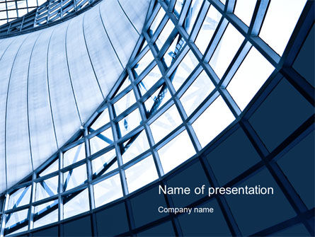 Building Structure PowerPoint Template, 10392, Construction — PoweredTemplate.com