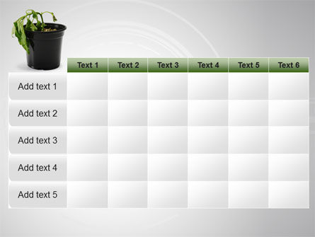 Withered Plant PowerPoint Template Slide 15