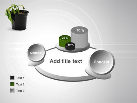 Withered Plant PowerPoint Template Slide 16