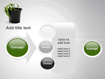 Withered Plant PowerPoint Template Slide 17