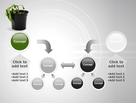 Withered Plant PowerPoint Template Slide 19