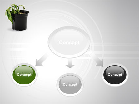 Withered Plant PowerPoint Template Slide 4