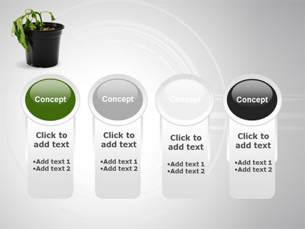 Withered Plant PowerPoint Template Slide 5