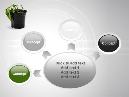 Withered Plant PowerPoint Template Slide 7