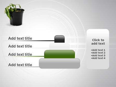 Withered Plant PowerPoint Template Slide 8