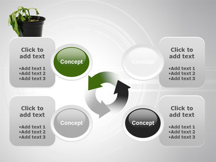 Withered Plant PowerPoint Template Slide 9