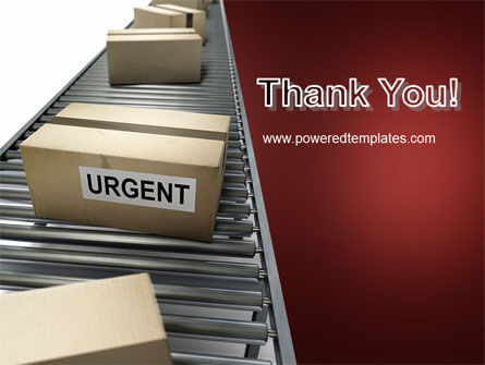 Urgent Delivery PowerPoint Template Slide 20