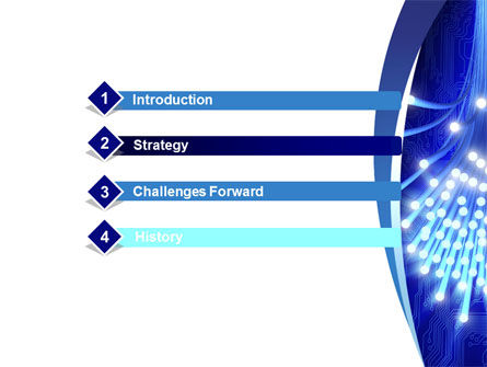 Fiber Bundle PowerPoint Template, Slide 3, 10395, Technology and Science — PoweredTemplate.com