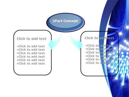 Fiber Bundle PowerPoint Template, Slide 4, 10395, Technology and Science — PoweredTemplate.com