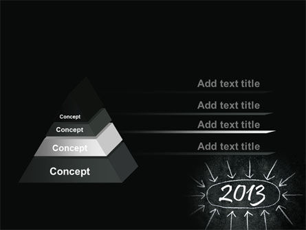 New Year Brain Storm PowerPoint Template Slide 12