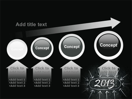 New Year Brain Storm PowerPoint Template Slide 13