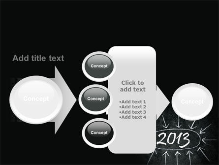 New Year Brain Storm PowerPoint Template Slide 17