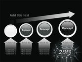 New Year Brain Storm PowerPoint Template#13