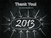 New Year Brain Storm PowerPoint Template#20