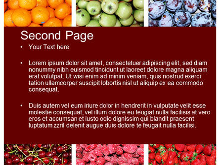 Greengrocery PowerPoint Template Slide 2