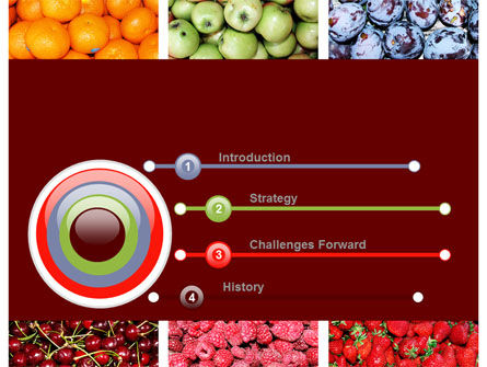 Greengrocery PowerPoint Template, Slide 3, 10397, Agriculture — PoweredTemplate.com