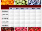 Greengrocery PowerPoint Template#15
