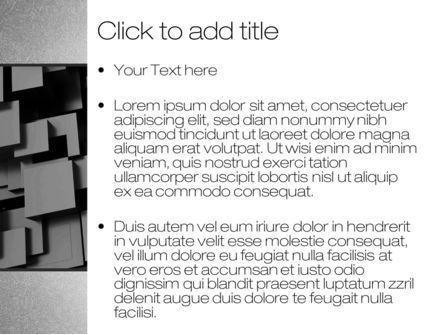 Abstract 3Dcubes, Slide 3, 10399, Abstract/Textures — PoweredTemplate.com