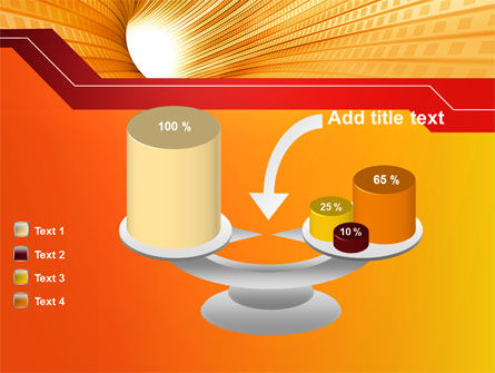Orange Tunnel PowerPoint Template Slide 10