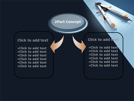 Compass Divider PowerPoint Template, Slide 4, 10401, Utilities/Industrial — PoweredTemplate.com