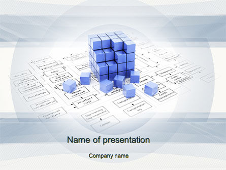 Consulting: Business Process Modeling PowerPoint Template #10404