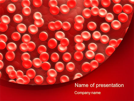 Medical: Hematology PowerPoint Template #10407