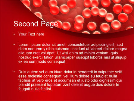 Hematology PowerPoint Template, Slide 2, 10407, Medical — PoweredTemplate.com