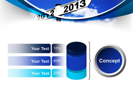 New Year Border PowerPoint Template Slide 11