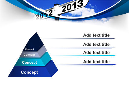 New Year Border PowerPoint Template Slide 12