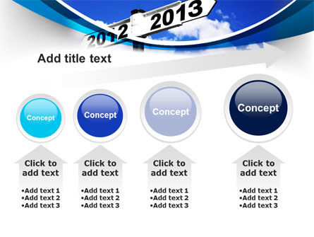 New Year Border PowerPoint Template Slide 13